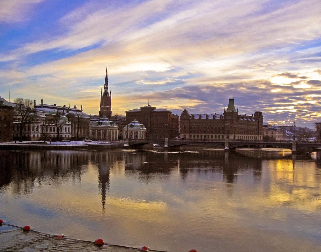 Top 10 de meilleures villes étudiantes en Europe – #6: Stockholm
